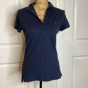 Tommy Hilfiger Tops Polo Navy Short Sleeve S